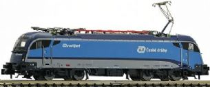 Fleischmann 781803 N Gauge CD Railjet Rh1216 Electric Locomotive